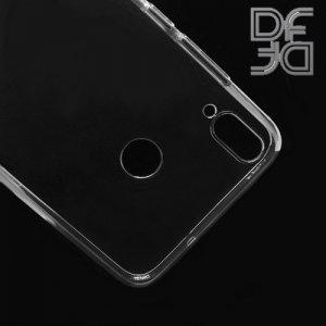 DF Ультратонкий прозрачный силиконовый чехол для Huawei Honor 8X