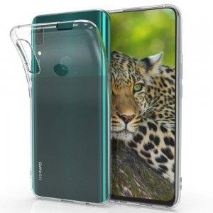 DF Ультратонкий прозрачный силиконовый чехол для Huawei Honor 9X Pro