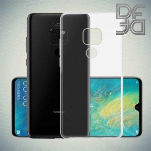 DF Ультратонкий прозрачный силиконовый чехол для Huawei Mate 20