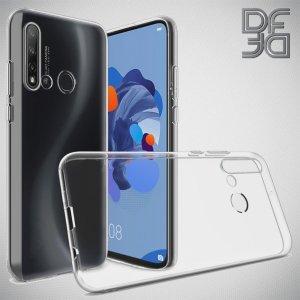 DF Ультратонкий прозрачный силиконовый чехол для Huawei P20 lite (2019) / nova 5i