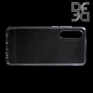 DF Ультратонкий прозрачный силиконовый чехол для Huawei P30