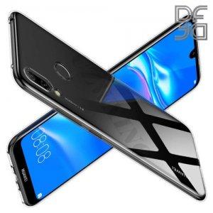 DF Ультратонкий прозрачный силиконовый чехол для Huawei Y6 2019