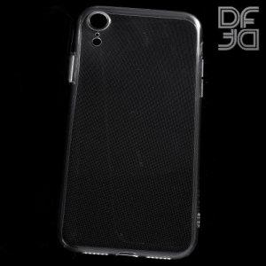 DF Ультратонкий прозрачный силиконовый чехол для iPhone XR