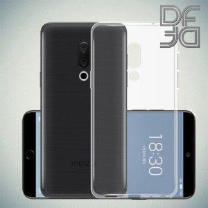 DF Ультратонкий прозрачный силиконовый чехол для Meizu 15 Plus