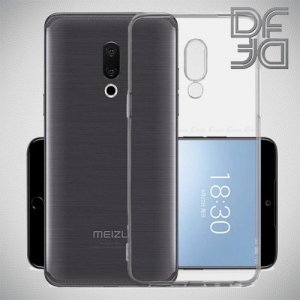 DF Ультратонкий прозрачный силиконовый чехол для Meizu M8 lite