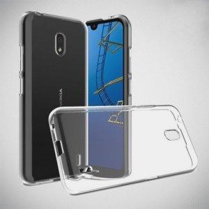 DF Ультратонкий прозрачный силиконовый чехол для Nokia 2.2