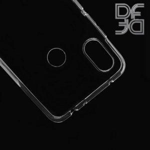 DF Ультратонкий прозрачный силиконовый чехол для Redmi Note 6