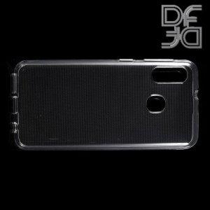 DF Ультратонкий прозрачный силиконовый чехол для Samsung Galaxy A20e