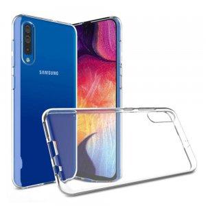 Ультратонкий прозрачный силиконовый чехол для Samsung Galaxy A70