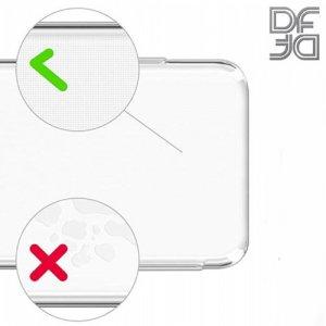 DF Ультратонкий прозрачный силиконовый чехол для Samsung Galaxy A9 2018 SM-A920F