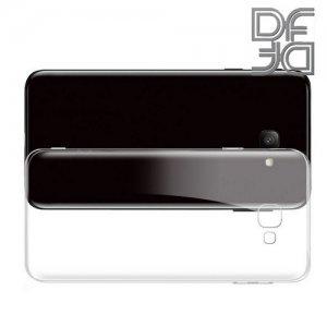 DF Ультратонкий прозрачный силиконовый чехол для Samsung Galaxy J4+ Plus