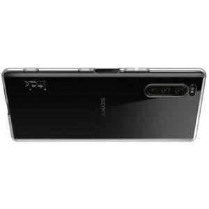 Ультратонкий прозрачный силиконовый чехол для Sony Xperia 5