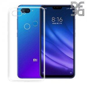 DF Ультратонкий прозрачный силиконовый чехол для Xiaomi Mi 8 Lite