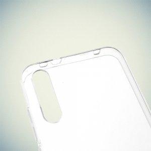 DF Ультратонкий прозрачный силиконовый чехол для Xiaomi Mi A3