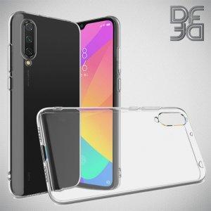 DF Ультратонкий прозрачный силиконовый чехол для Xiaomi Mi 9 lite