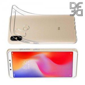 DF Ультратонкий прозрачный силиконовый чехол для Xiaomi Mi Max 3