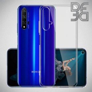 DF Ультратонкий  силиконовый чехол для Huawei Honor 20