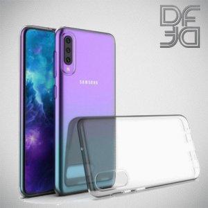 DF Ультратонкий  силиконовый чехол для Samsung Galaxy A50