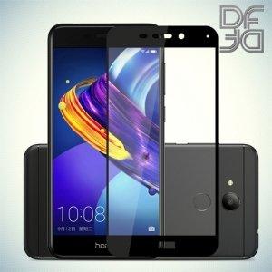 DF Закаленное защитное стекло на весь экран для Huawei Honor 6C Pro - Черный