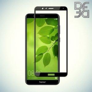 DF Закаленное защитное стекло на весь экран для Huawei Honor 7X - Черный