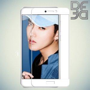DF Закаленное защитное стекло на весь экран для Huawei Honor 8 lite - Белый