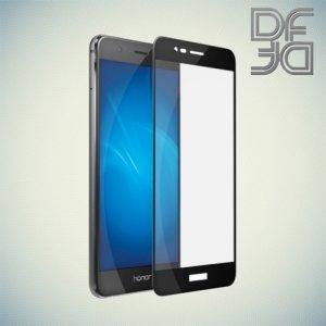 DF Закаленное защитное стекло на весь экран для Huawei Honor 8 Pro - Черный