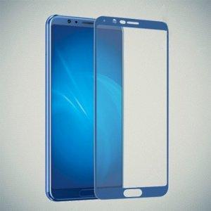 DF Закаленное защитное стекло на весь экран для Huawei Honor View 10 (V10) - Синий