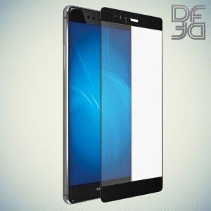 DF Закаленное защитное стекло на весь экран для Huawei P9 Plus - Черный