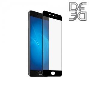 DF Закаленное защитное стекло на весь экран для Meizu M5 Note - Черный