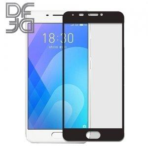 DF Закаленное защитное стекло на весь экран для Meizu M6 Note - Черный