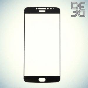DF Закаленное защитное стекло на весь экран для Moto E4 Plus - Черный