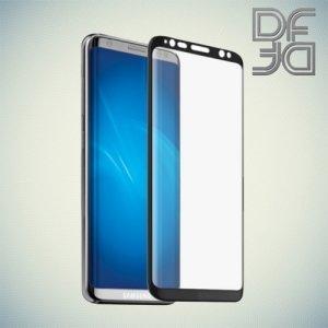 DF защитное 3D стекло для Samsung Galaxy S8 на весь экран - Черный