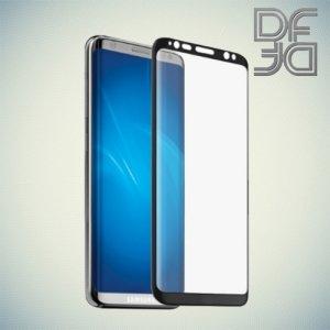 DF защитное 3D стекло для Samsung Galaxy S8 Plus на весь экран - Черный