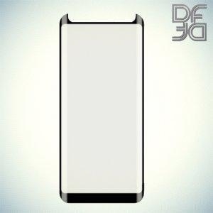 DF защитное 3D стекло для Samsung Galaxy S9 на весь экран - Черный
