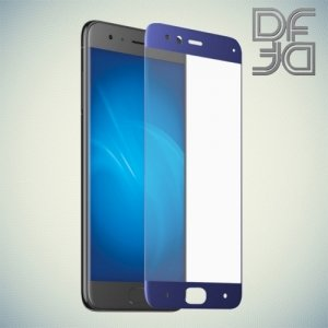 DF Закаленное защитное стекло на весь экран для Xiaomi Mi 6 - Синий