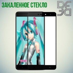 DF Закаленное защитное стекло на весь экран для Xiaomi Redmi Note 4X - Черный