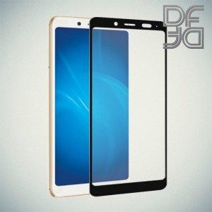 DF Закаленное защитное стекло на весь экран для Xiaomi Redmi Note 5 / 5 Pro - Черный