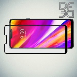 DF Защитное стекло для Asus Zenfone Max M2 ZB633KL черное