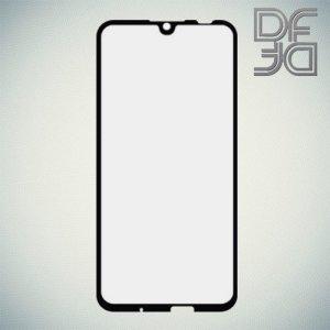 DF Защитное стекло для Huawei Honor 10 Lite / P Smart 2019 черное / Honor 10i