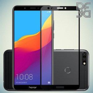 DF Защитное стекло для Huawei Honor 7A / Y5 2018 / Y5 Prime 2018 черное