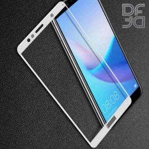 DF Защитное стекло для Huawei Honor 7A / Y5 2018 / Y5 Prime 2018 белое