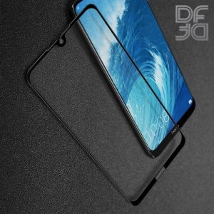 DF Защитное стекло для Huawei Honor 8X Max черное