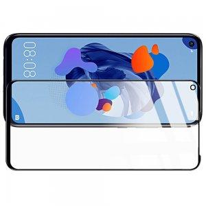 DF Защитное стекло для Huawei Mate 30 Lite черное