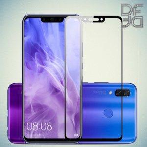 DF Защитное стекло для Huawei P smart+ / Nova 3i черное