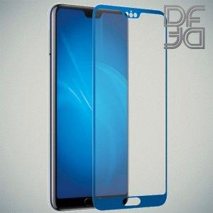 DF Защитное стекло для Huawei P20 синее