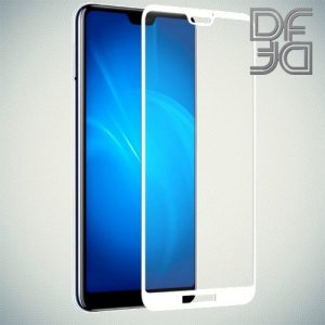 DF Защитное стекло для Huawei P20 Lite белое