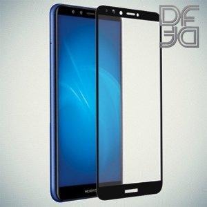 DF Защитное стекло для Huawei Y9 2018 черное