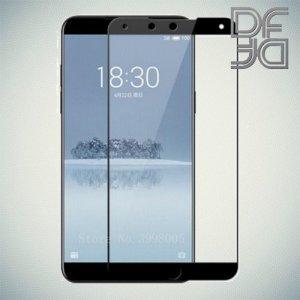 DF Защитное стекло для Meizu 15 черное
