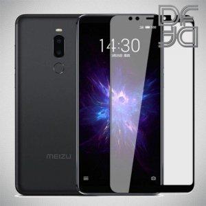 DF Защитное стекло для Meizu M8 / Meizu M8 lite черное