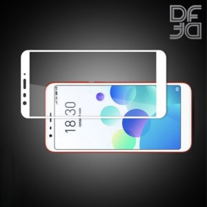 DF Защитное стекло для Meizu M8C белое